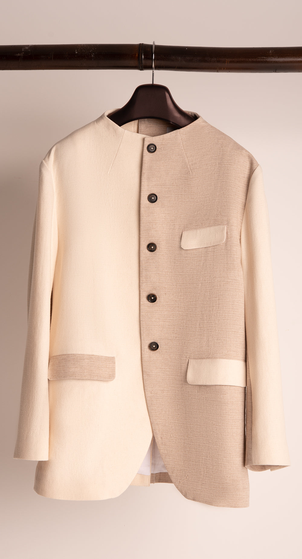 Round High-neck Jacket P-BE