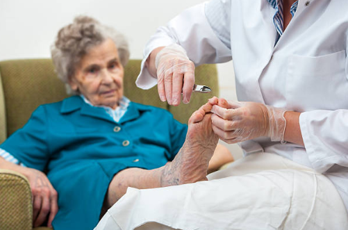 Specialized diabetic foot care