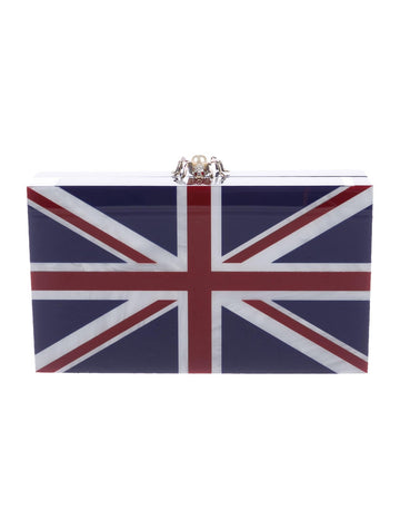 Charlotte Olympia Great Britain Pandora Clutch