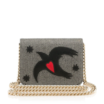 Charlotte Olympia Sinatra Houndstooth Bag