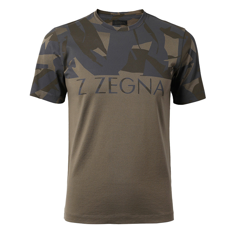 Zegna Tee Shirt Men Crew Neck