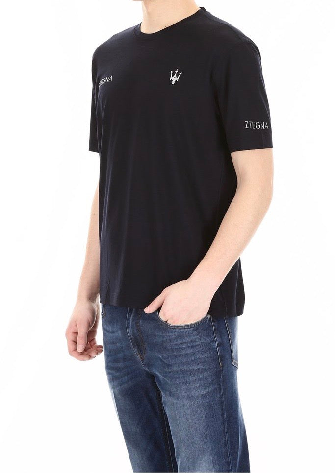 Maserati Zegna Tee logo Shirt Capsule Collection