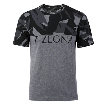 Zegna Men Crew Neck Tee