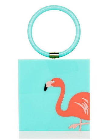 Charlotte Olympia The Flamingo clutch