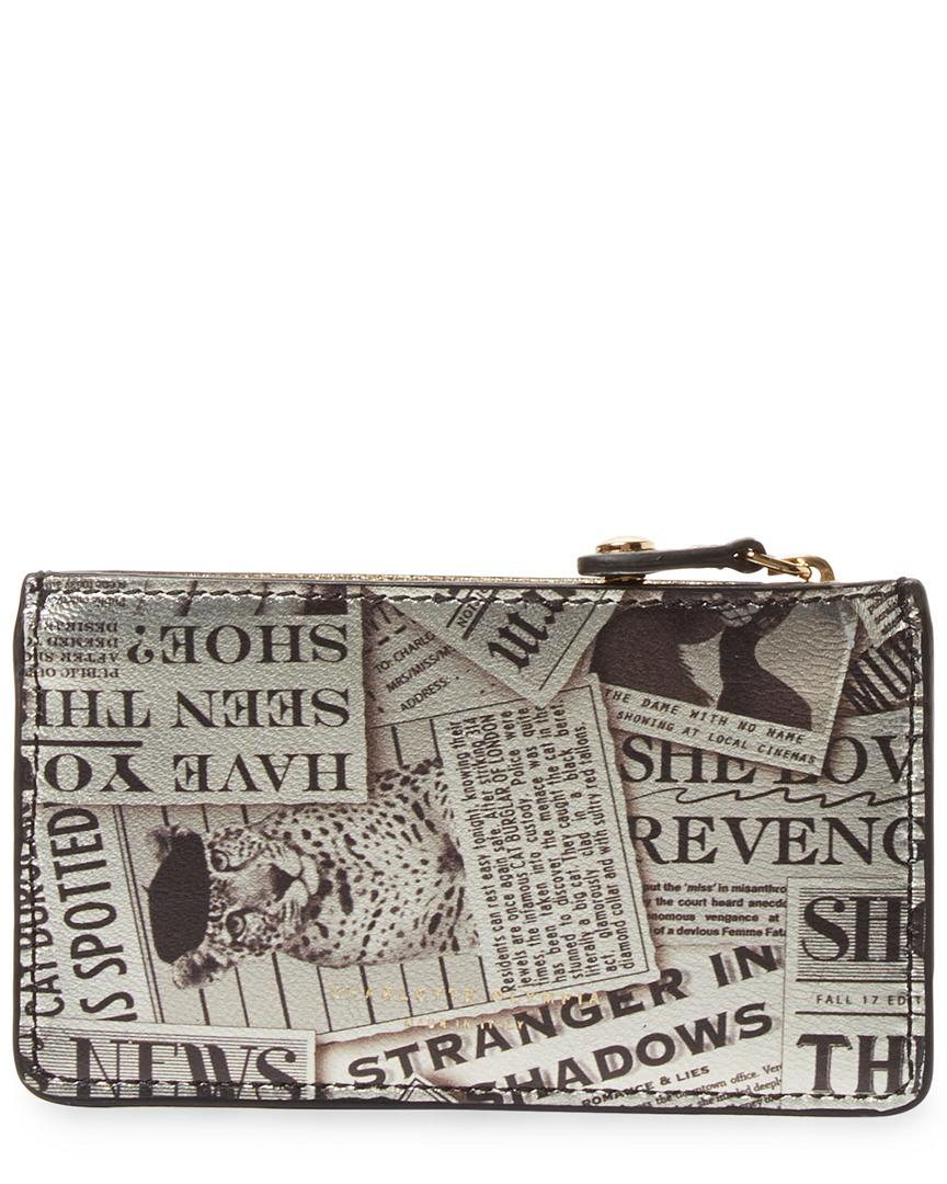 Charlotte Olympia Newspaper Coin Purse Holder