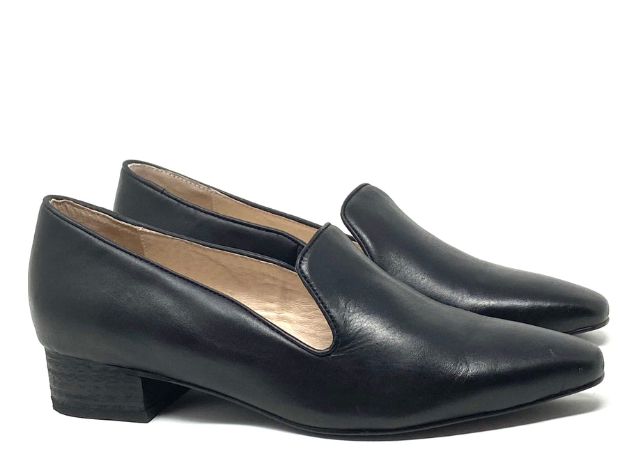 Intentionally Blank Oni Black Loafers