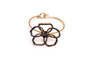 Capri Black Flower Band