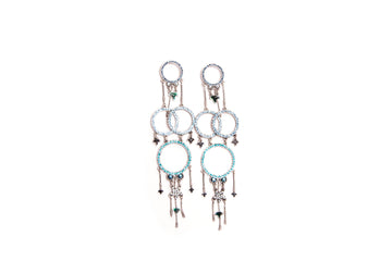 Dreamcatcher Crystals Earrings