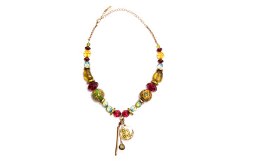 Beaded St Tropez Dawn Necklace