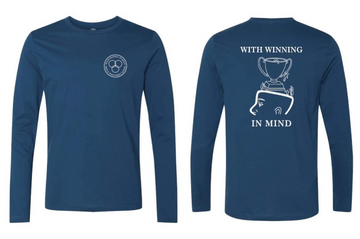 With Winning in Mind Shirt - Long Sleeve