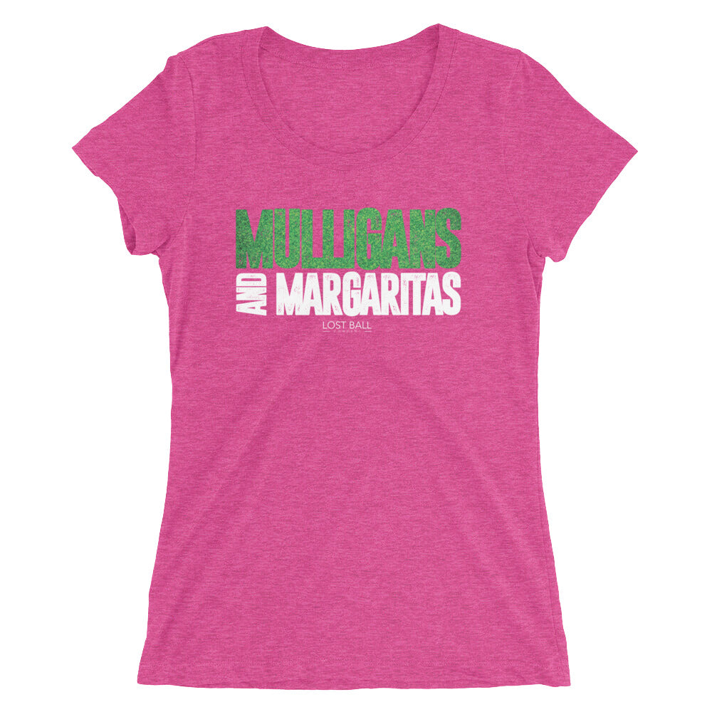 Mulligans And Margaritas Women's Tri-Blend T-Shirt