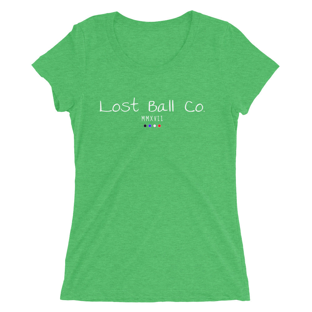 Lost Ball Co. Women's Tri-Blend T-Shirt