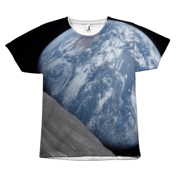 Earthrise or Earthset? All Over Teeshirt