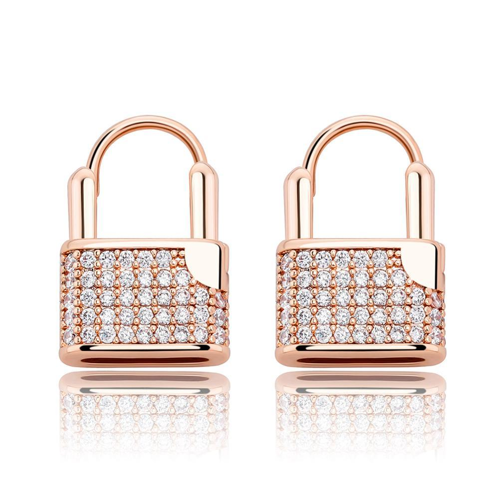 Lock Earrings - BBYKUTE