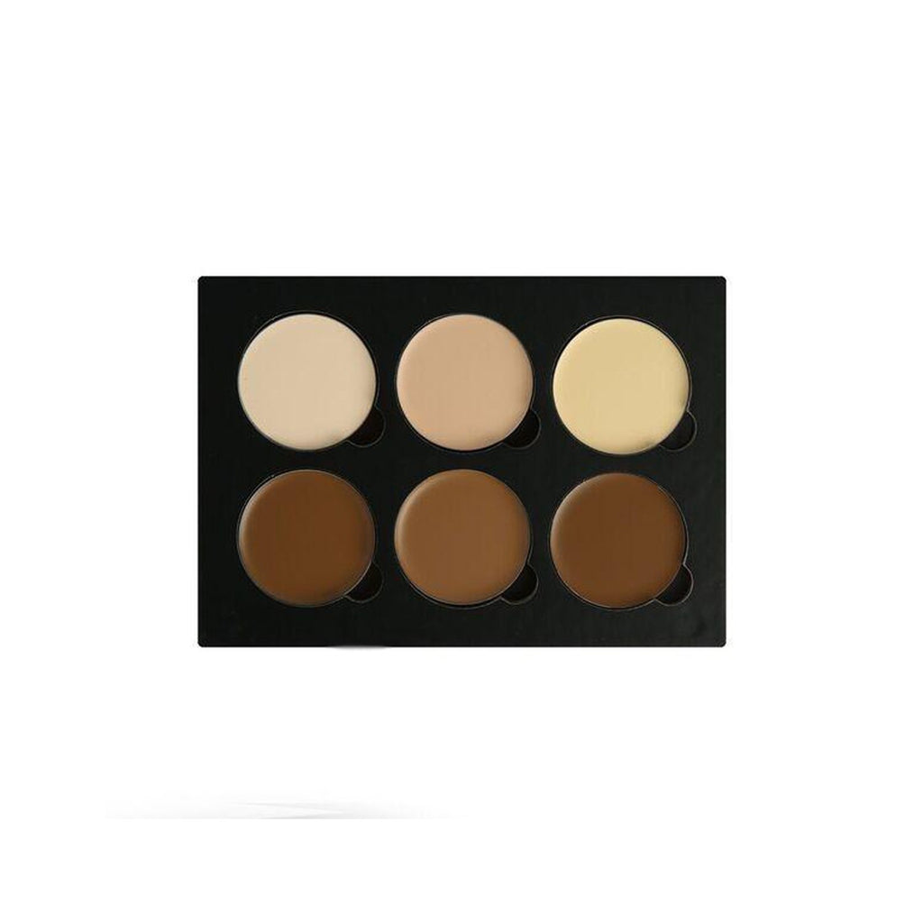 "Contorno en crema Beauty Creations ""Contour cream palette 6 color face """