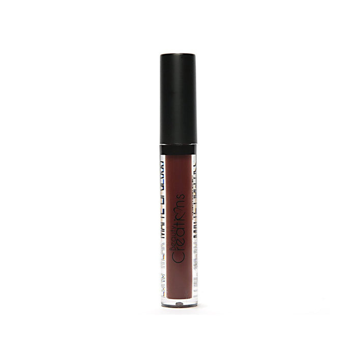 "Brillo Labial mate Beauty Creations #46 ""DARK CHOCOLATE"""