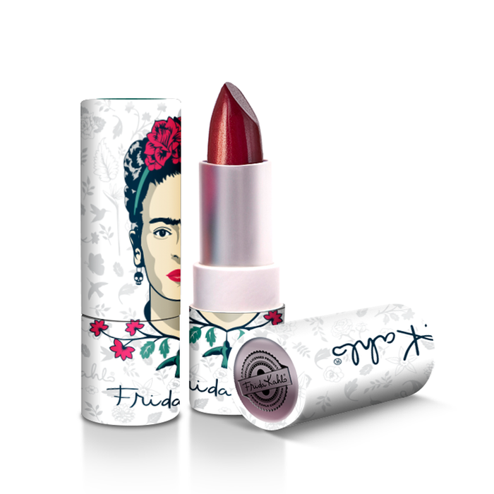 "LABIAL FRIDA KAHLO 12 ""CLAVEL"" - Republic Cosmetics Tienda de cosmeticos"