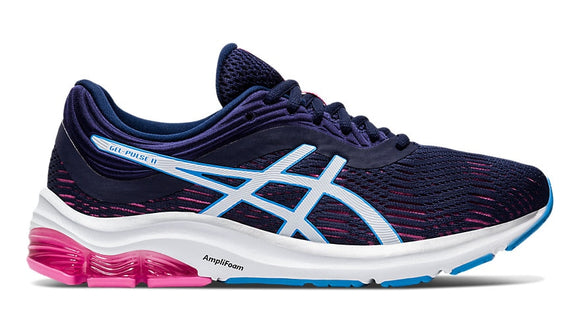 Gel Pulse 11 womens - Navy / Pink