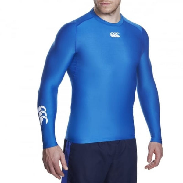 Canterbury Thermoreg Long Sleeve Baselayer Top - Olympian Blue