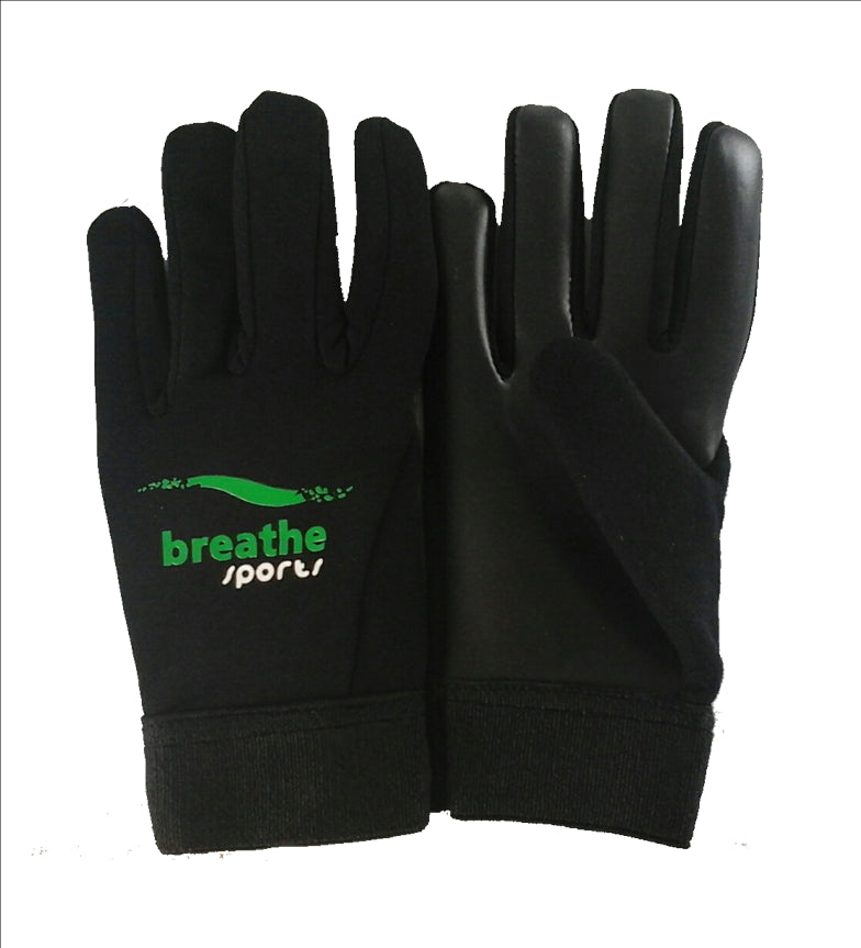 Junior GAA Gloves - Black/Black