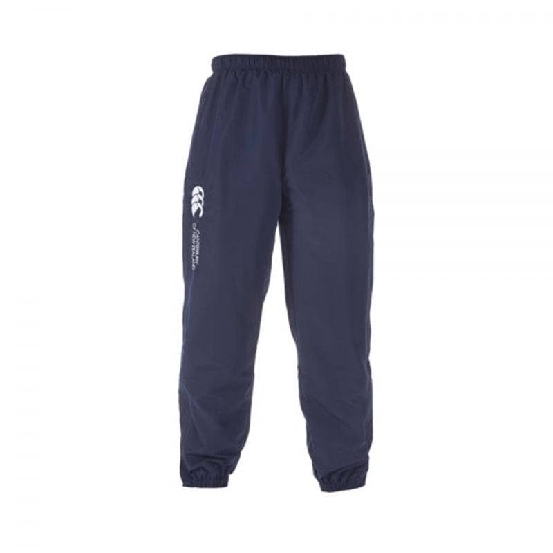 Cuffed Stadium Pants  - Navy