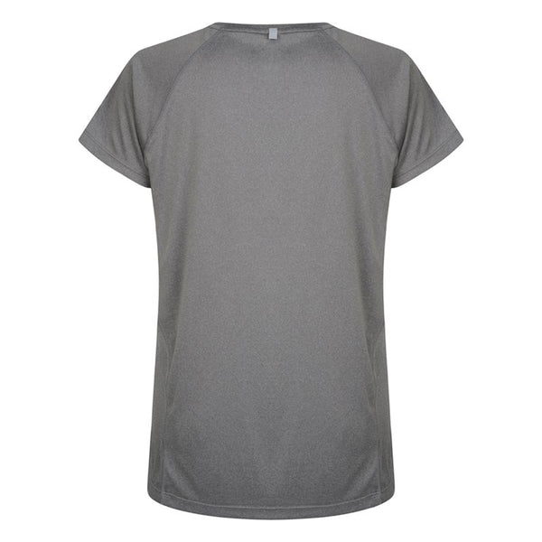 Ladies Vapodri Training Tee - Static Marl
