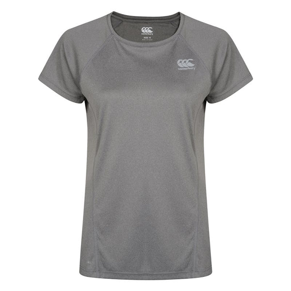 Canterbury Ladies Vapodri Training Tee - Static Marl
