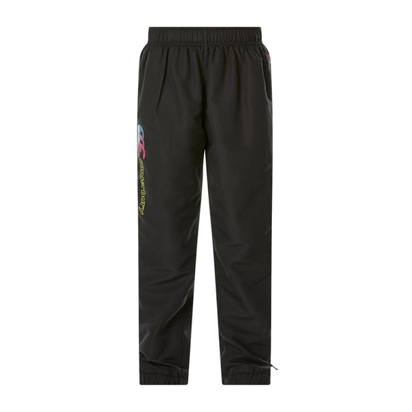 Canterbury Girls Kids Tapered Cuff Woven Pant - Jet Black