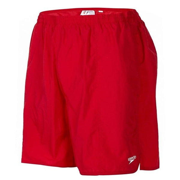 Speedo Solid Leisure 16 Water Shorts - Red