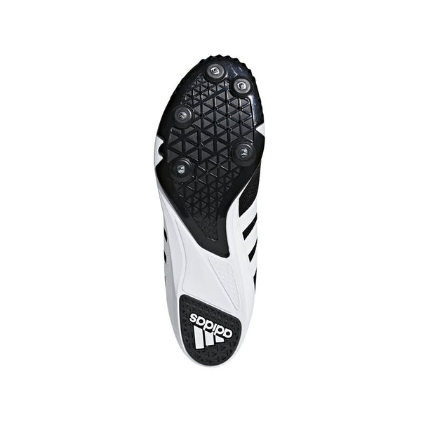 Distancestar Track Running Spikes - Black/White