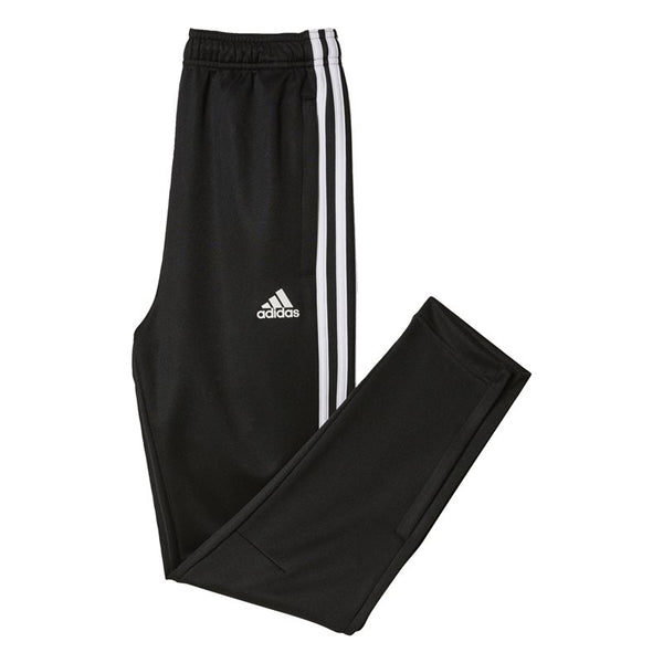 Tiro 3-Stripes Junior Pants - Black/White