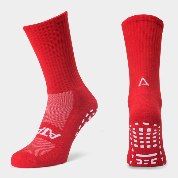 ATAK Non Slip Socks - Red