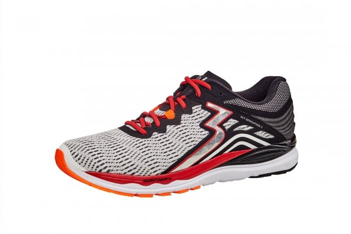 Sensation 3 Mens Running - White/Black