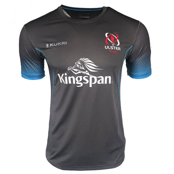 Kukri Ulster Rugby 2019 Technical Gym Kids Tee - Grey