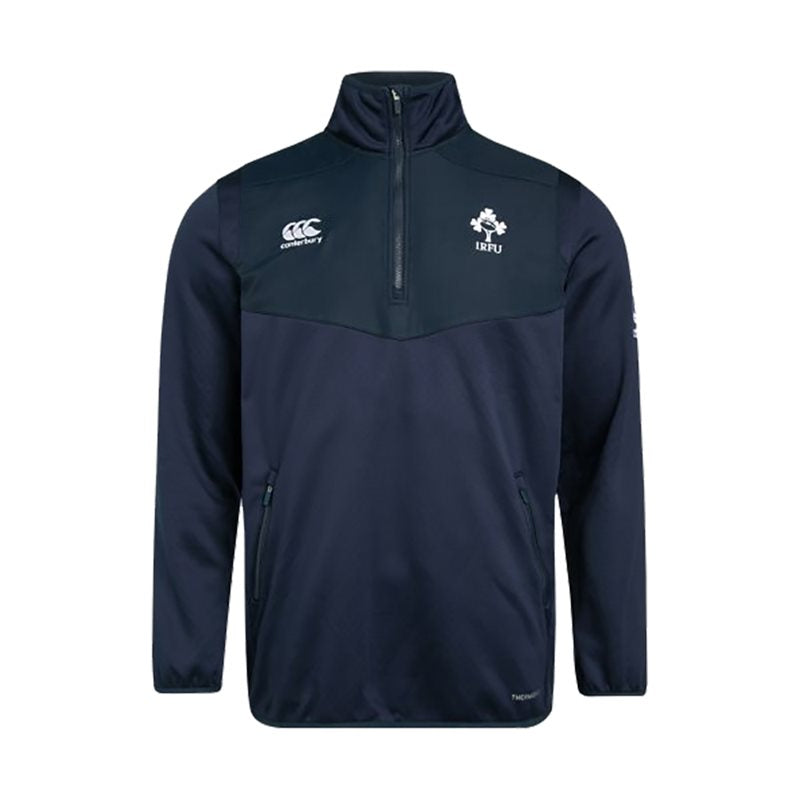 Ireland Rugby Thermoreg 1/4 Zip Top - Navy - Kids