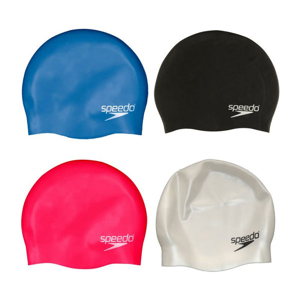 Speedo Moulded Silicone Swim Cap