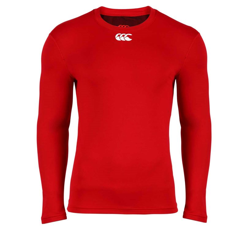 Long Sleeve Baselayer - Red