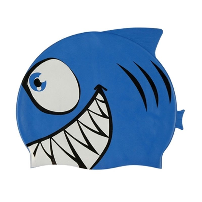 Childrens Shark Swimming Cap