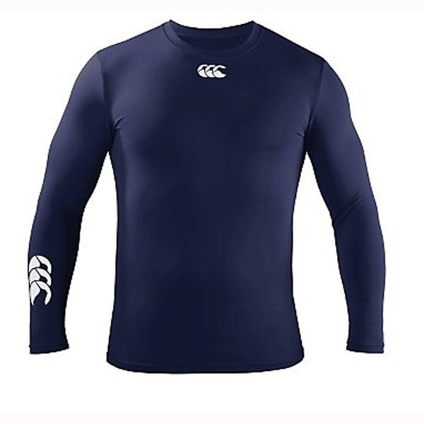 Canterbury Cold Long Sleeve Baselayer Kids - Navy