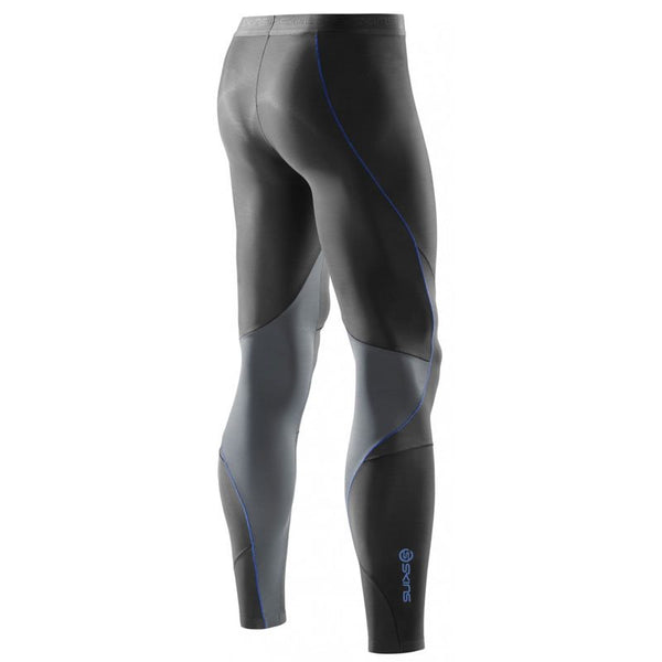 RY400 Mens Recovery Long Tights - Graphite/Blue