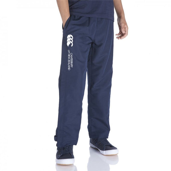 Junior Open Hem Stadium Pants - Navy