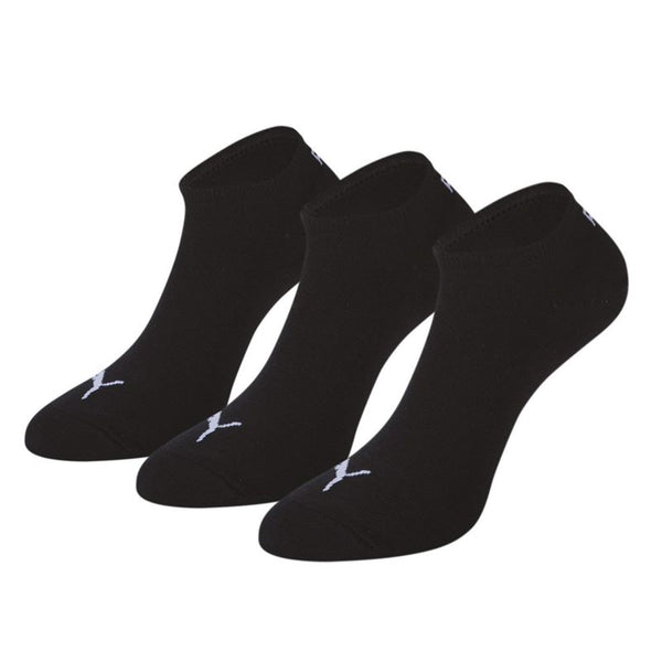 Puma Invisible Trainer Socks - (3 Pack) - Black