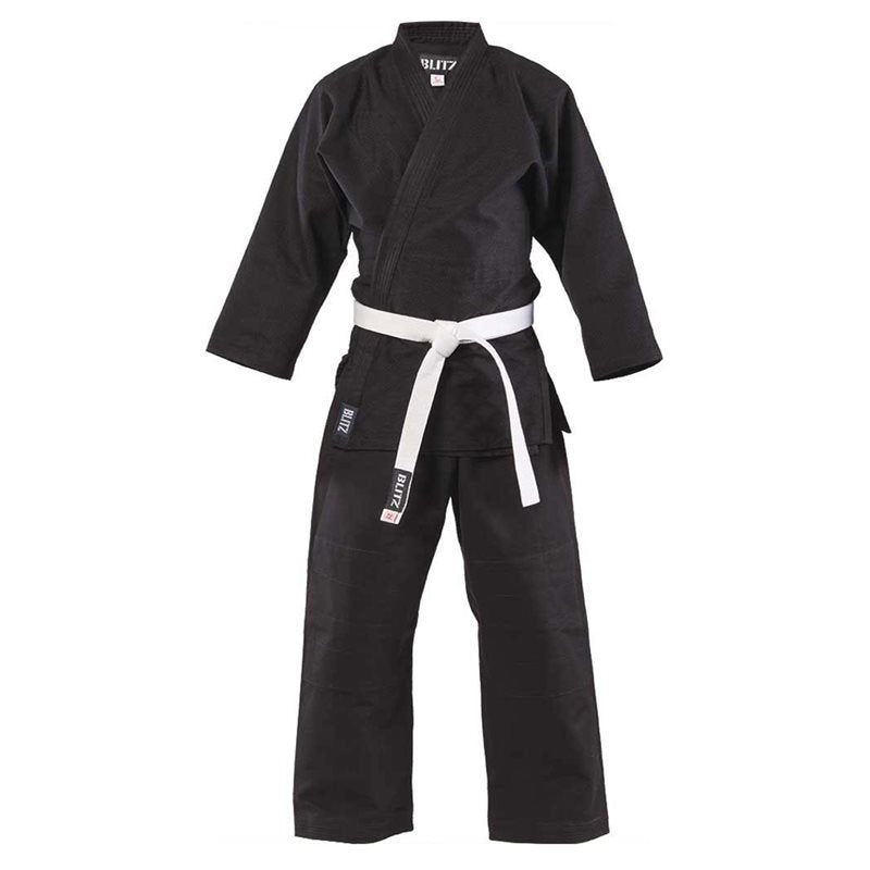 Judo Cotton Student Suit - Black