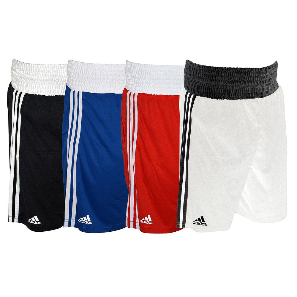 Adidas Boxing Shorts -White -DS