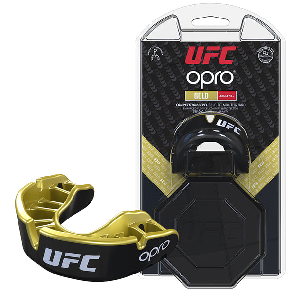 UFC Gold Mouthguard by Opro -DS