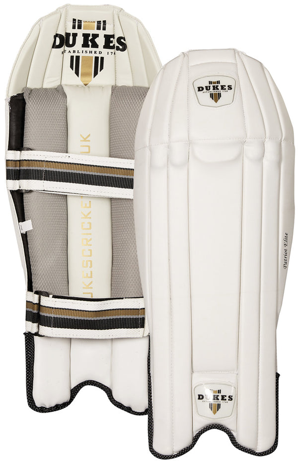 DUKES Patriot Elite Wicket Keeping Pads -DS