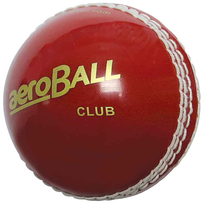 aero Club Cricket ball Blister Packed Red -DS
