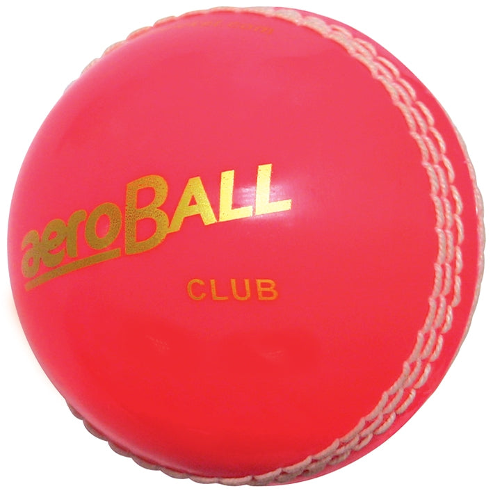 aero Club Cricket Balls Blister Packed Pink -DS
