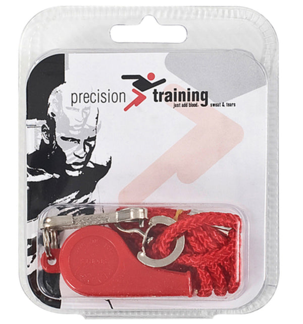 Precision Plastic Whistle & Lanyard (Single) -DS