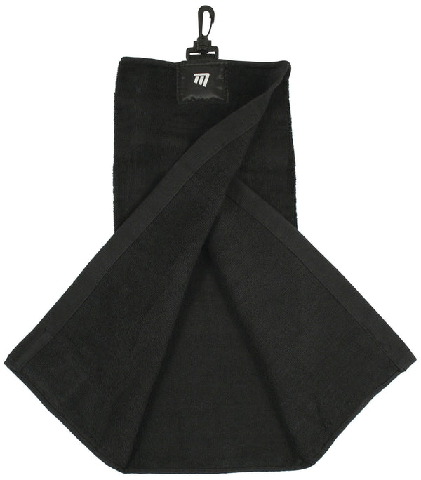 Masters Tri-Fold Towel Black -DS